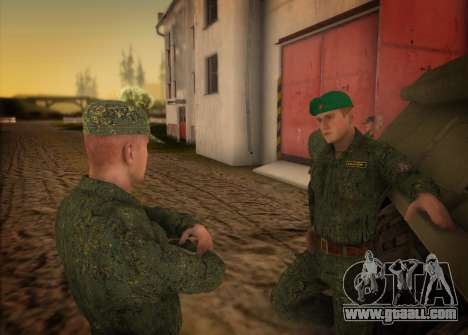 The Modern RUSSIAN Army for GTA San Andreas third screenshot