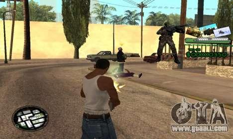 C-HUD Army Troops for GTA San Andreas third screenshot