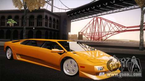 Lamborghini Diablo Stretch for GTA San Andreas