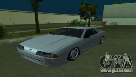 Elegy 280sx for GTA San Andreas back view