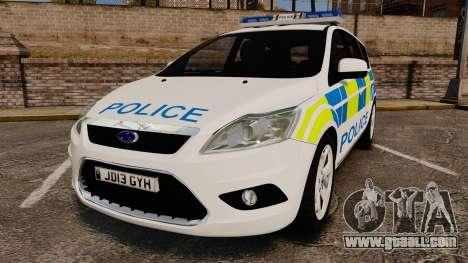 Ford Focus Estate Essex Police [ELS] for GTA 4