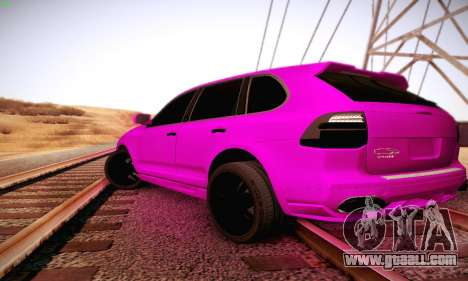 Porsche Cayenne for GTA San Andreas right view