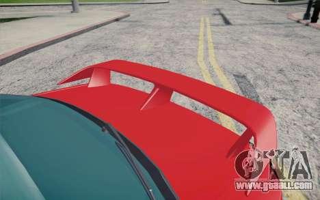 Nissan Silvia S15 BN Sports for GTA San Andreas back view