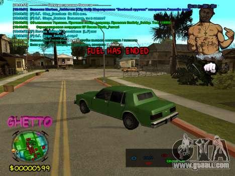 C-HUD 2pac for GTA San Andreas third screenshot