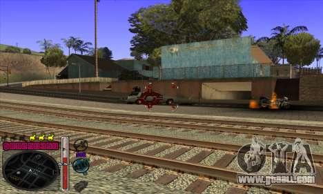 C-HUD by Andy Cardozo for GTA San Andreas fifth screenshot