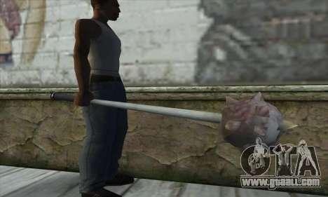 Spikes Hammer for GTA San Andreas third screenshot