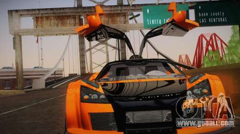 Gumpert Apollo Sport V10 for GTA San Andreas