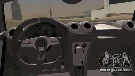 Gumpert Apollo Sport V10 for GTA San Andreas right view