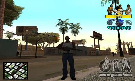 Vagos C-Hud for GTA San Andreas
