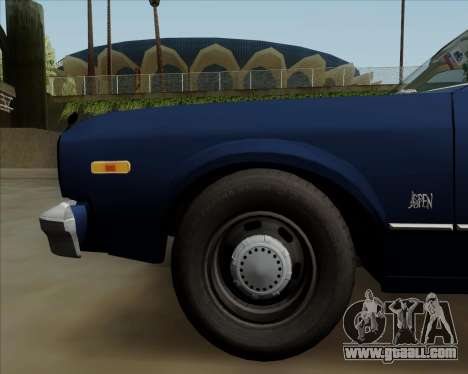 Dodge Aspen for GTA San Andreas side view
