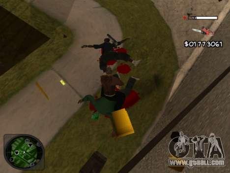 C-HUD by Azov for GTA San Andreas third screenshot