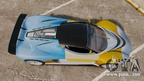 GTA V Grotti Turismo R for GTA 4 right view