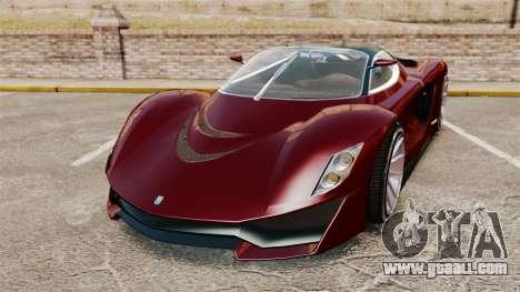 GTA V Grotti Turismo R v2.0 for GTA 4