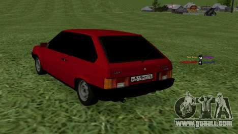 VAZ-2108 for GTA San Andreas left view