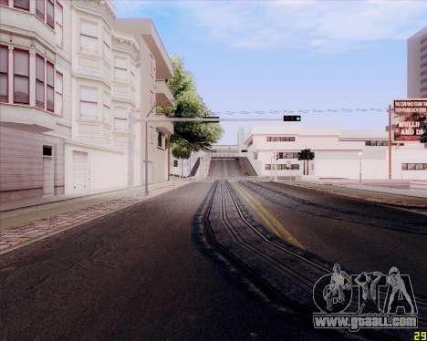 ENB HD CUDA 2014 v.3.5 Final for GTA San Andreas third screenshot