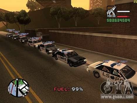 SA-MP 0.3z for GTA San Andreas third screenshot