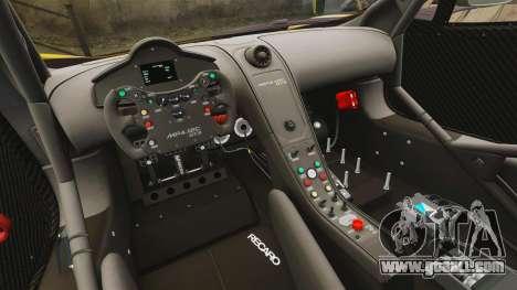 McLaren MP4-12C GT3 (Updated) for GTA 4 side view