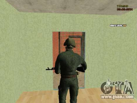 The Modern RUSSIAN Army for GTA San Andreas sixth screenshot