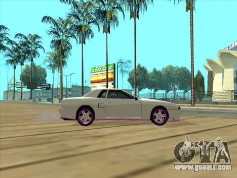 Elegy by MegaPixel for GTA San Andreas back left view