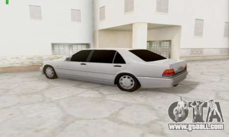 Mercedes-Benz 600SEL for GTA San Andreas right view