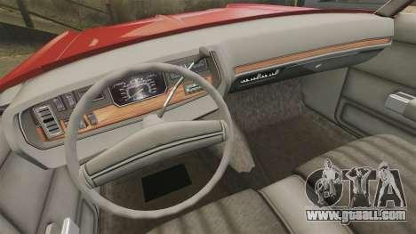 Dodge Polara 1971 for GTA 4 side view