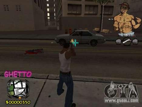 C-HUD 2pac for GTA San Andreas
