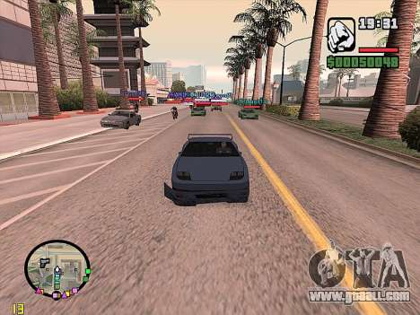 SA-MP 0.3z for GTA San Andreas forth screenshot