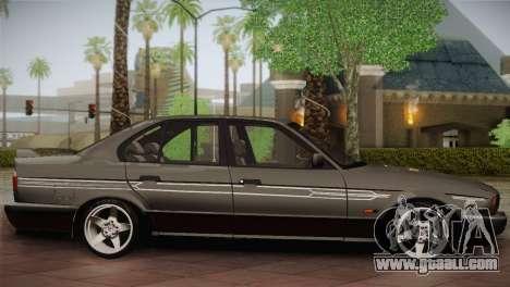BMW E34 Alpina B10 for GTA San Andreas left view