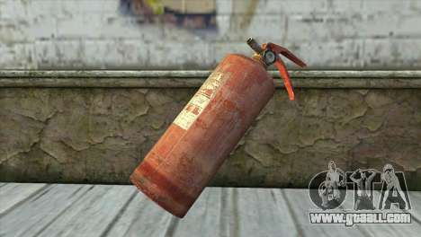 The Old Fire Extinguisher for GTA San Andreas
