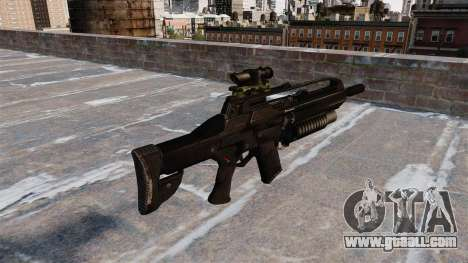 SCAR automatic rifle for GTA 4 second screenshot