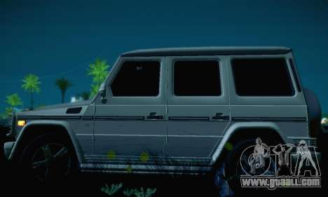 Mercedes-Benz G500 for GTA San Andreas side view