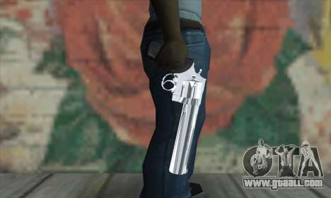 Chrome Desert Eagle for GTA San Andreas third screenshot
