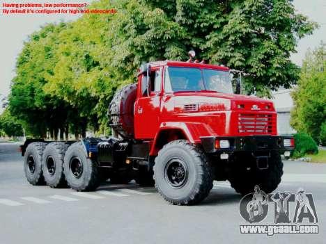 Boot screens Soviet Trucks for GTA San Andreas third screenshot