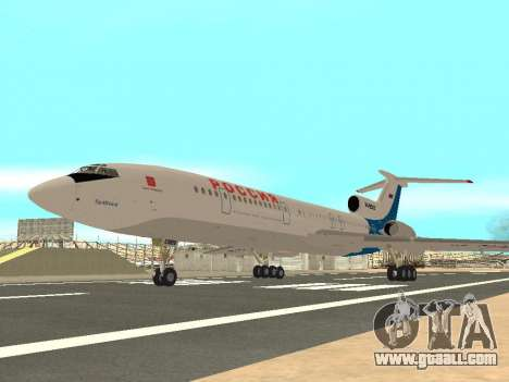Tu-154 B-2 SCC of Russia for GTA San Andreas right view