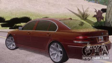 BMW 750Li E66 for GTA San Andreas right view