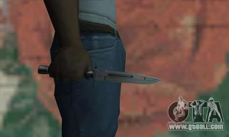 M9 Knife for GTA San Andreas third screenshot