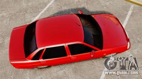VAZ-2170 Dubai for GTA 4 right view