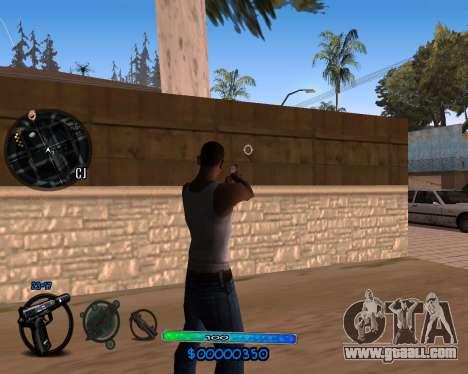 C-HUD by Vadya for GTA San Andreas second screenshot