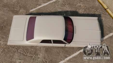 Dodge Polara 1971 for GTA 4 right view