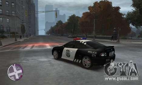 Holden Monaro CV8-R Police for GTA 4 left view
