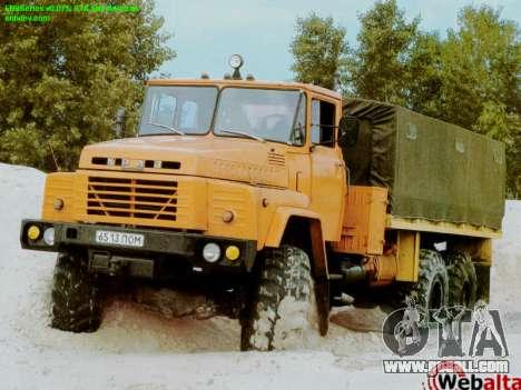 Boot screens Soviet Trucks for GTA San Andreas second screenshot