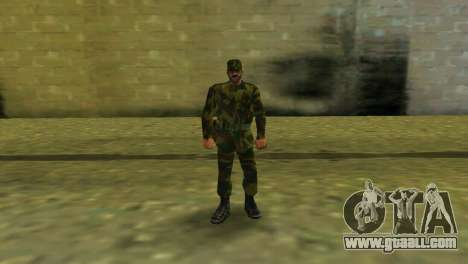 The Shape Of The RF ARMED FORCES for GTA Vice City