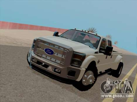 Ford F450 Super Duty 2013 for GTA San Andreas