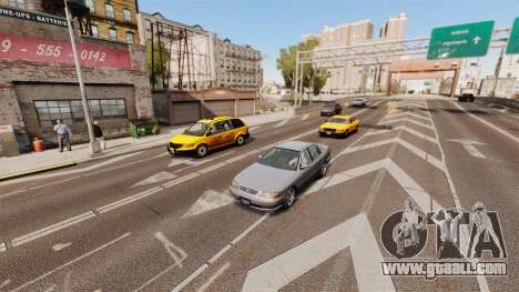 The real traffic for GTA 4 second screenshot