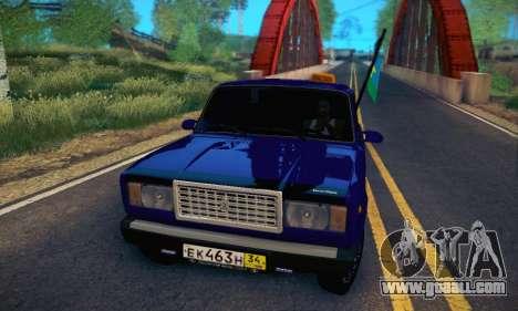 VAZ 2107 VDV for GTA San Andreas