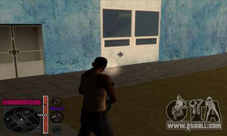 C-HUD by Andy Cardozo for GTA San Andreas forth screenshot