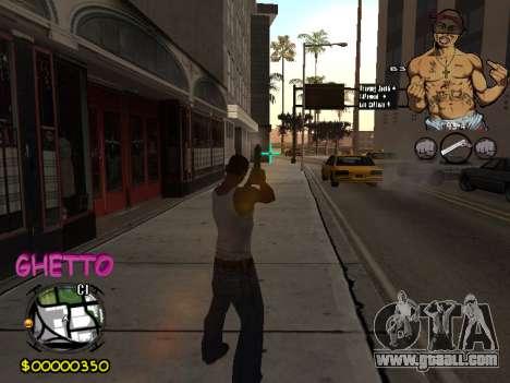 C-HUD 2pac for GTA San Andreas fifth screenshot