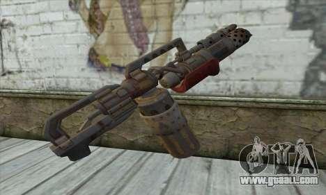 Flamethrower for GTA San Andreas second screenshot
