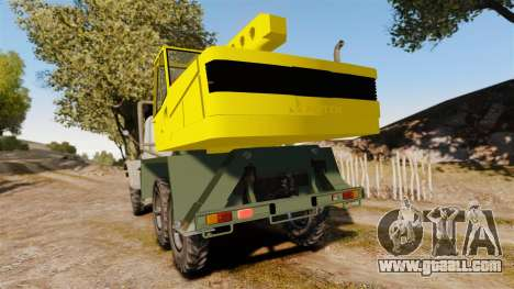 ZIL-157 GVK-32 for GTA 4 back left view