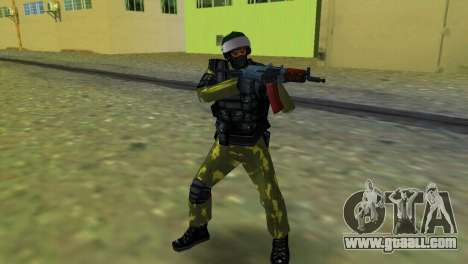 Soldier Of Special Forces for GTA Vice City